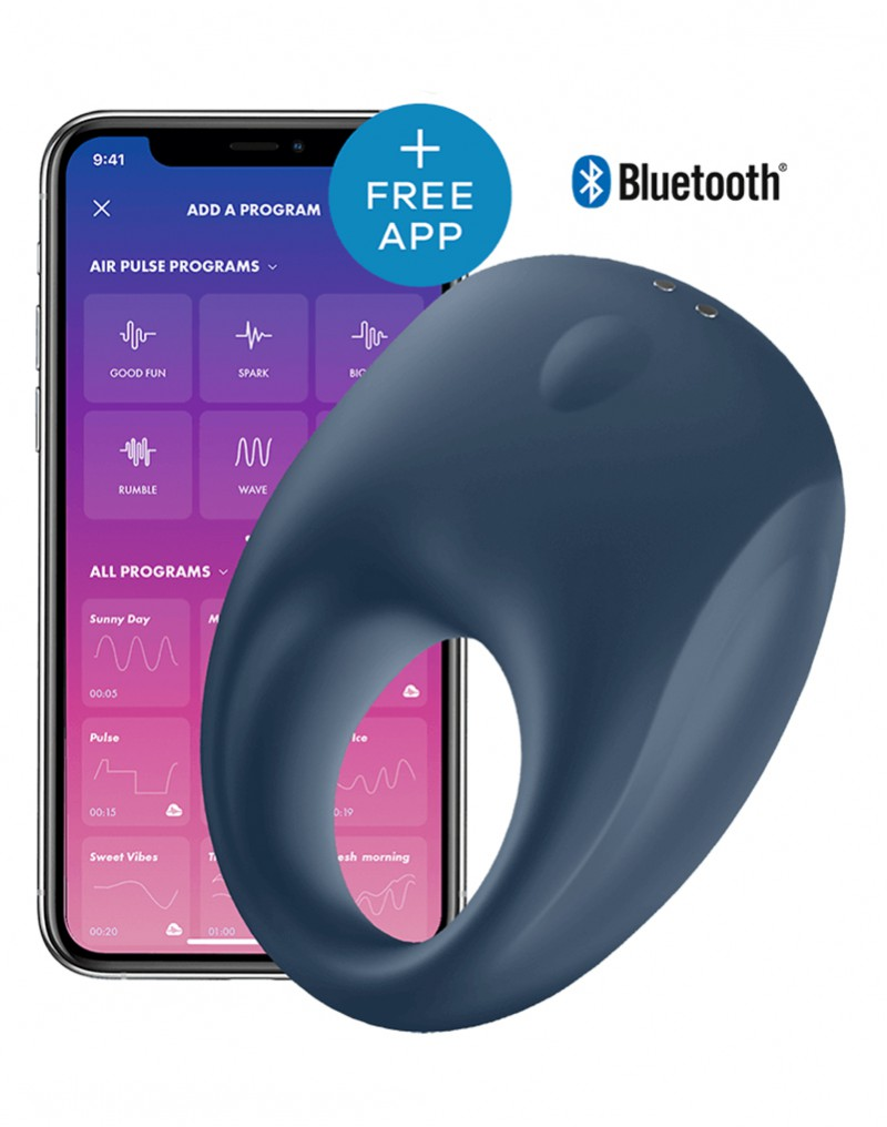 Satisfyer Cock Ring Strong One +APP