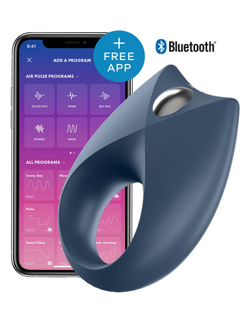 Satisfyer Cock Ring Royal One +APP